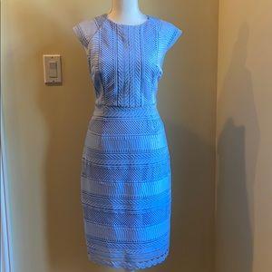 Baby Blue Tahari dress SIZE 6
